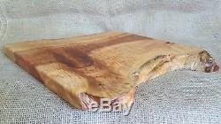 Serving Tray, Charcuterie Board, Cheese Board, Bread Board, Big Leaf Maple, Live