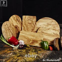 Serving Tray Chopping Board Olive Wood, Handmade Kitchen Cutting Wood