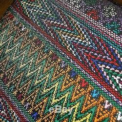 Serving Tray Wood Cotton Handmade'Maya Mystique' NOVICA Guatemala