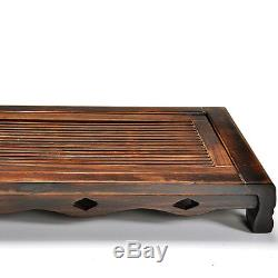 Solid wood tea tray chinese character tea table Charcoal tea board plastic layer