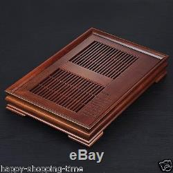 Tea sets Chinese solid wood tea tray ebony tea table for kung fu handmade carved