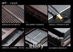 Tea table solid wood tea tray ebony/rosewood teaboard drainage serving trays new