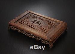 Tea tray wenge wood tea table Rosewood tea table solid wood water holder layers
