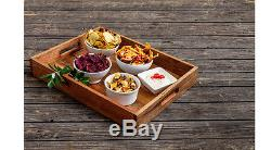 The Roseanne Reclaimed Wood Serving Tray by The Barrel Shack