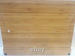 VIDA for Espana Eva Mendes Jardine Condiment Dip 5 Pc Serving Set &Wood Tray EUC