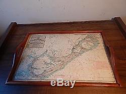 Vintage Pre-owned Bermuda Islands Wood Serving Tray International Sale