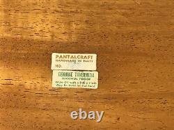 Vintage Arthur Umanoff Taverneau Pantalcraft Raymor Wood Bar Serving Tray #527