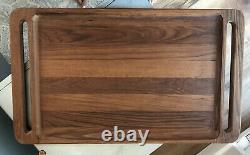 Vintage Dansk IHQ Teak Wood Breakfast Bed Serving Tray Jens Quistgaard Design