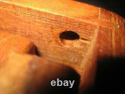 Vintage GOODWOOD Solid Teak Wood Folding Serving Bed Tray