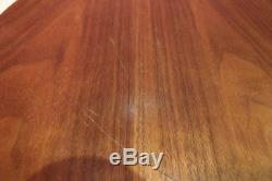 Vintage Herman Miller George Nelson Round Wood Wooden Serving Tray 18 Inches