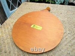 Vintage Shenandoah Community Workers Hand Made Divided Wooden Serving Tray Plate