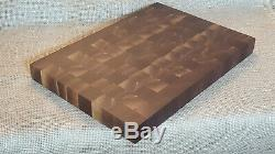 Walnut End Grain Wood Charcuterie Cutting Board Butcher Block Bread Cheese Board