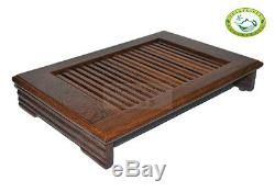 Wenge Wood Gongfu Tea Table QiFeng Serving Tray 13.4x9.45 or 34cm24cm