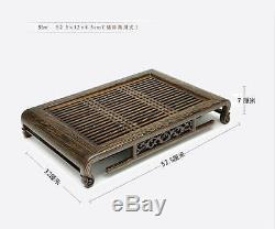 Wenge Wood Solid Gongfu Tea Table Serving Tray 20.47x12.6 / 5232cm