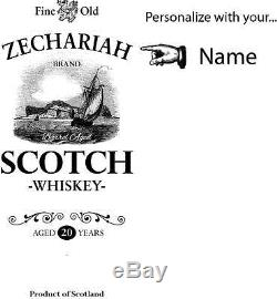 Zechariah Scotch Barrel Head Serving Tray with Wrought Iron Handles, Home or Bar